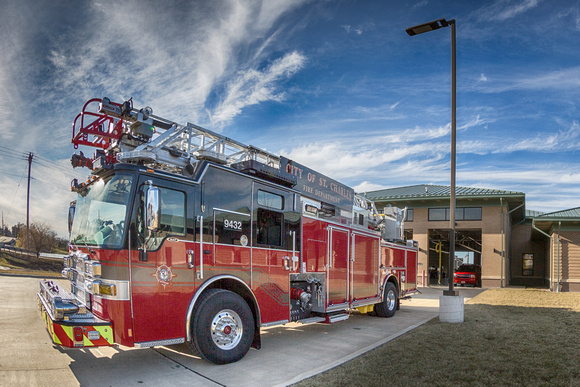 The new ladder truck